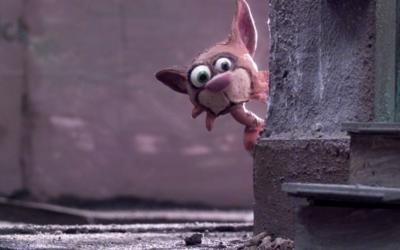 Blick hinter die Kulissen: So sieht eine Trickfilm-Straße abseits der Kamera aus