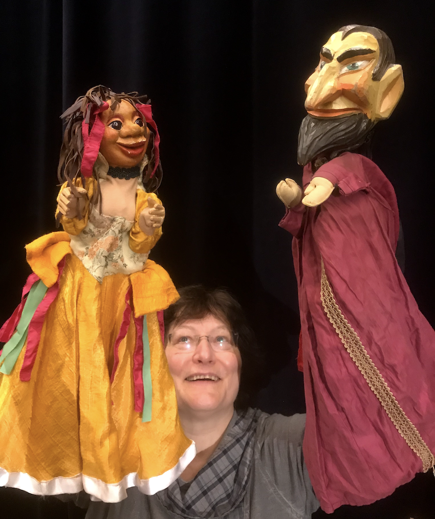 Poesie der Theaterfiguren