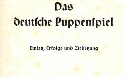 Puppet theatre during the Nazi era
