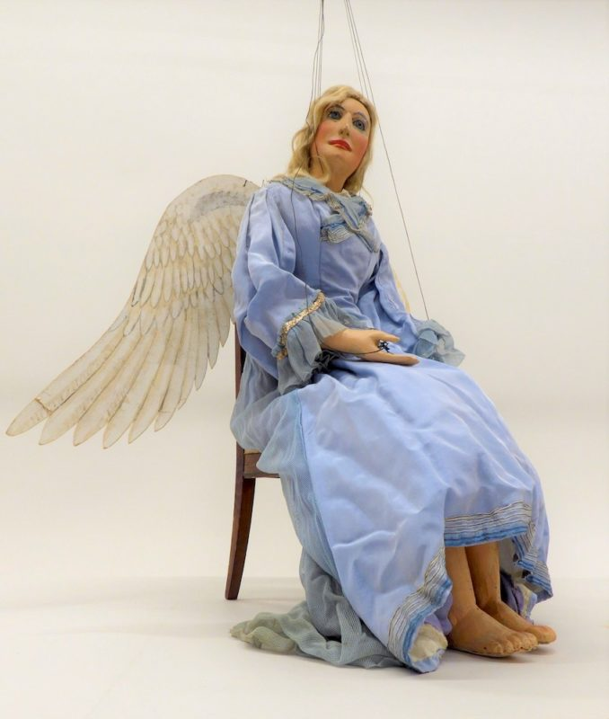Engel Marionette von Karl Winter Senior