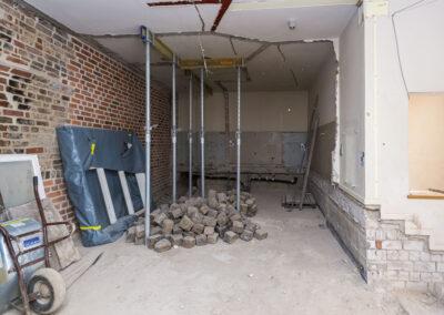 Baustelle im KOLK