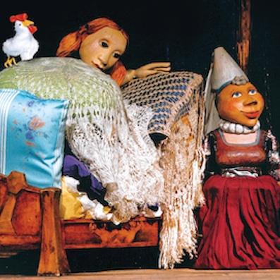 Die Prinzessin auf der Erbse Kolk 17 Figurentheater