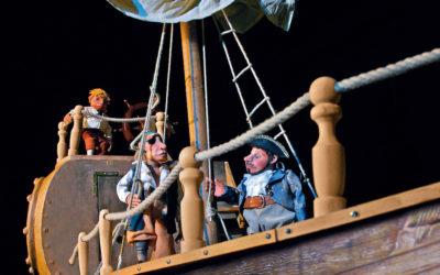 Pirat Eberhard auf Kaperfahrt