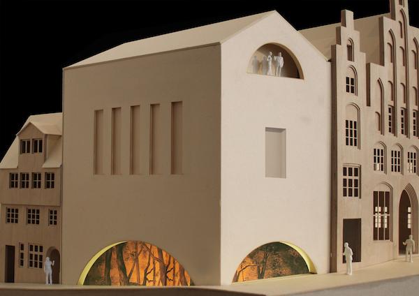 Modell KOLK 17 Figurentheater Lübeck