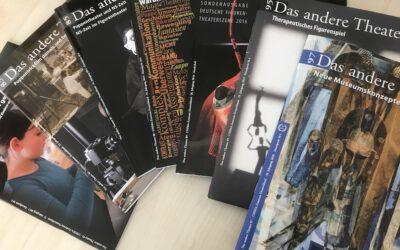 """17 Jahre in der Redaktion """"Das andere Theater"""" der UNIMA Deutschland"""